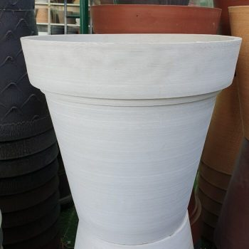 Green Ship Plant Pots