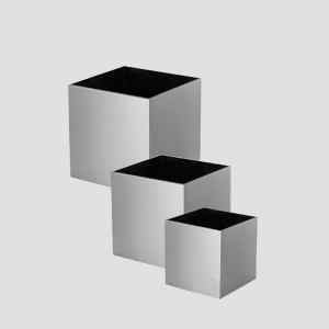 Cube-Stainless-steel