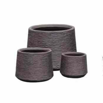Fiber clay Planter Pot