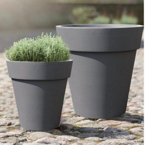 Fiber Clay Pot