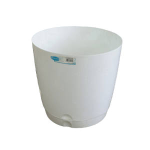 Plastic Pot White