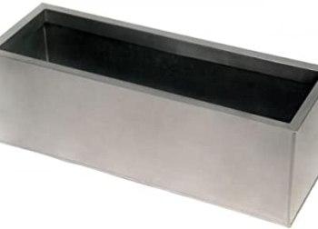 stainless steel rectangular pots