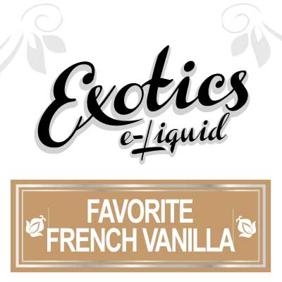 Favourite French Vanilla e-Liquid