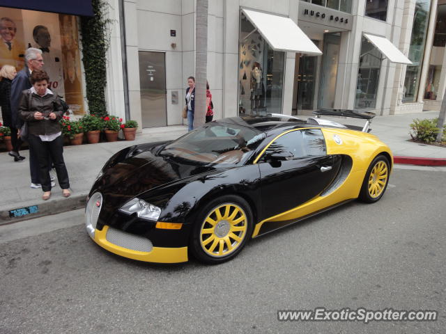 Bugatti Veyron Spotted In Los Angeles, United States On 10