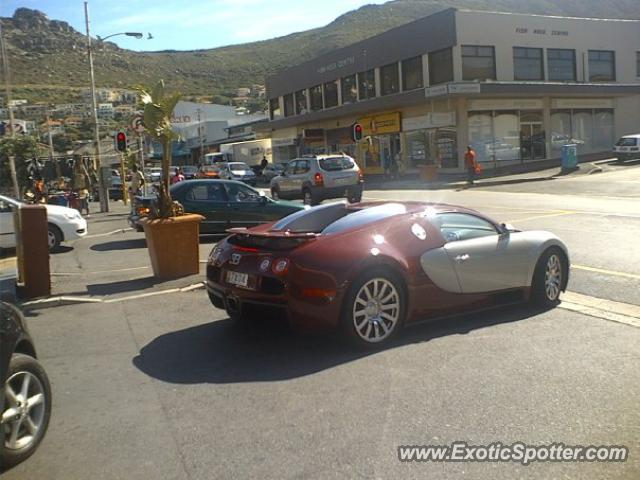 Bugatti Veyron Spotted In Cape Town, South Africa On 0505