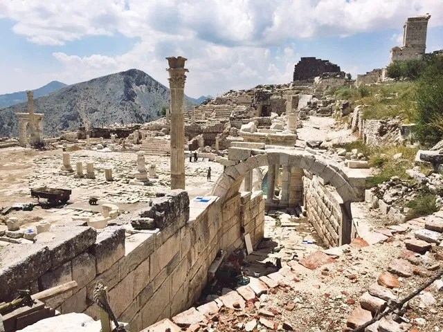 Sagalassos Turkey travel lesson
