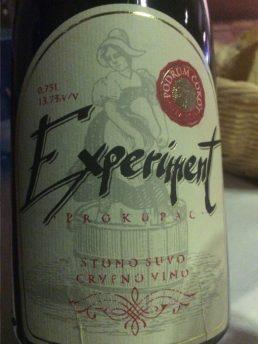 Podrum Ćokot, Experiment, Prokupac, Serbian Wine