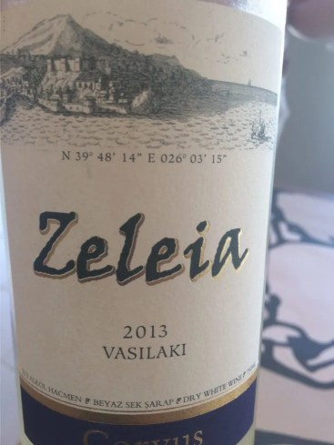 Corvus Zeleia Vasilaki - Turkish White Wine Bozcaada