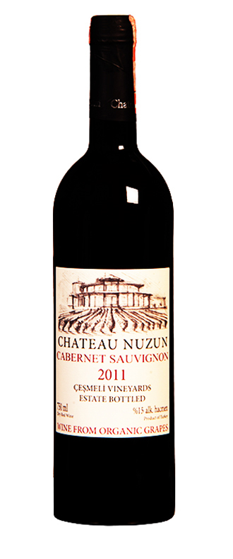 chateau nuzun cabernet sauvignon turkish wine