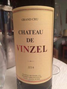Chateau de Vinzel Grand Cru Chasselas 2014