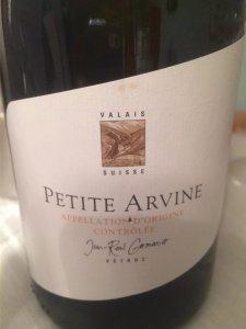 Jean-Rene Germanier Petite Arvine 2013