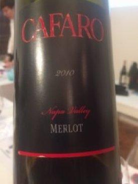 Cafaro, Merlot 2010 Napa Valley, USA