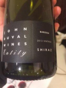 John Duval Wines, Entity Shiraz 2013 Barossa, Australia