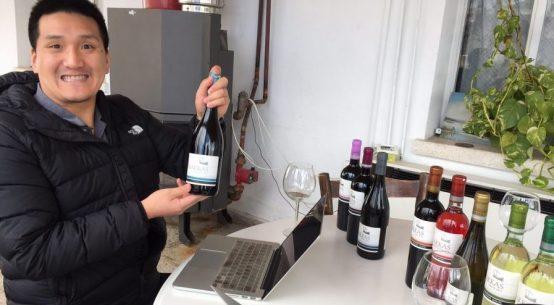 Tasting at Makkas Winery