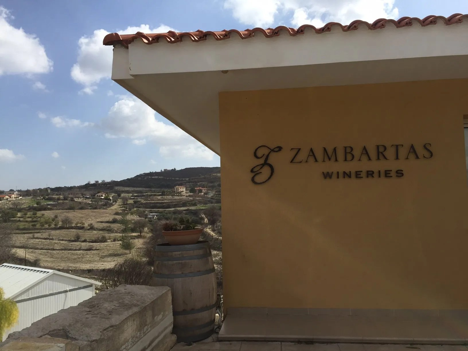 Zambartas Winery Building