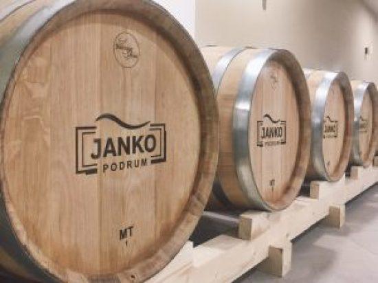 Janko Vinarija Podrum Barrel Room Serbian Wine