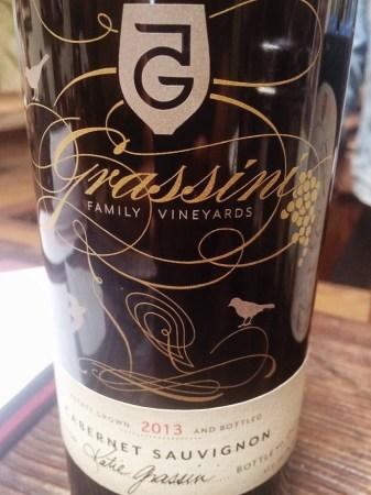 Grassini, Cabernet Sauvignon, 2013 wines from santa barbara