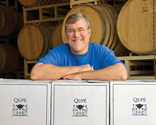 Qupe Winery Bob Lindquist
