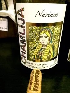 Chamlija Narince Turkish Wine