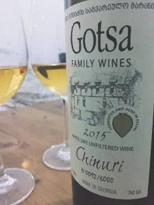 Gotsa Chinuri Orange Wine