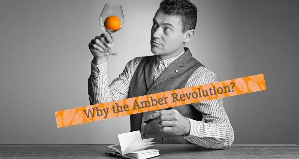 amber revolution best orange wine amber wine simon woolf