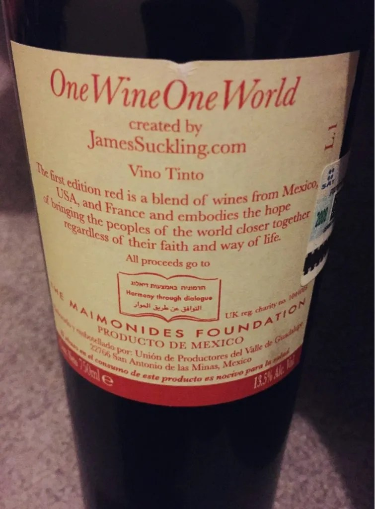 james suckling one wine one world
