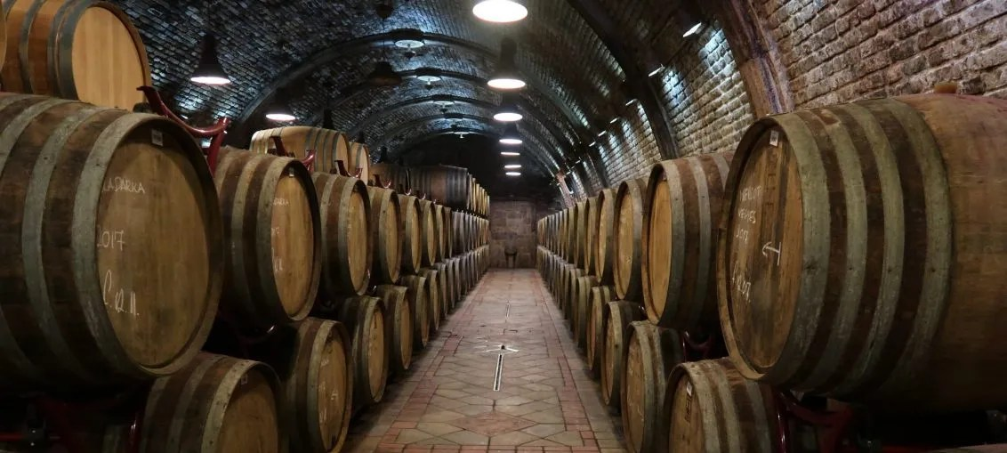 Takler Winery Cellar