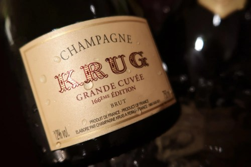 Champagne Krug Grand Cuvee 166 Edition