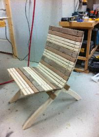 outdoor folding chair with footrest ikea ingolf covers exotic wood creations