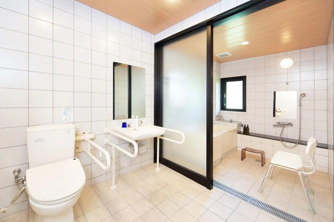 石川県・山中温泉 吉祥やまなか【アクセシブルルーム】心のバスルーム