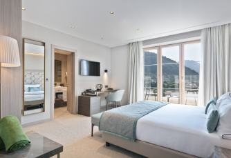 Hotel Ami Budva Petrovac, Petrovac, Deluxe soba, pogled na planinu ((2 Adults + 1 Child)), Soba za goste