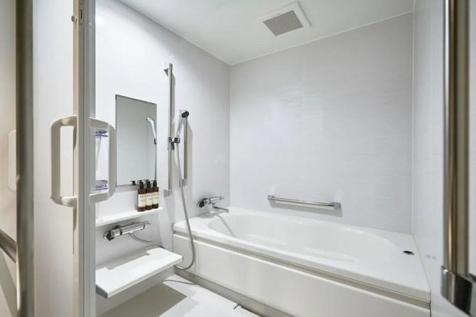 【ザ・レインホテル京都 THE REIGN HOTEL KYOTO】バスルーム