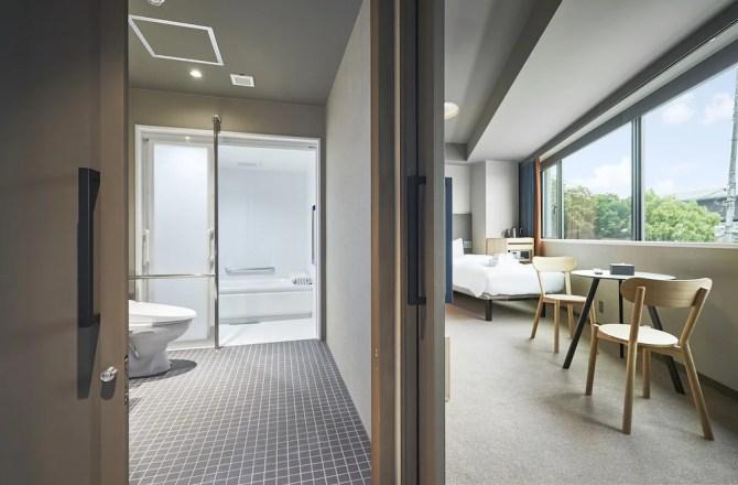 【ザ・レインホテル京都 THE REIGN HOTEL KYOTO】ユニバーサルルーム・ツイン(39平米・3名可)