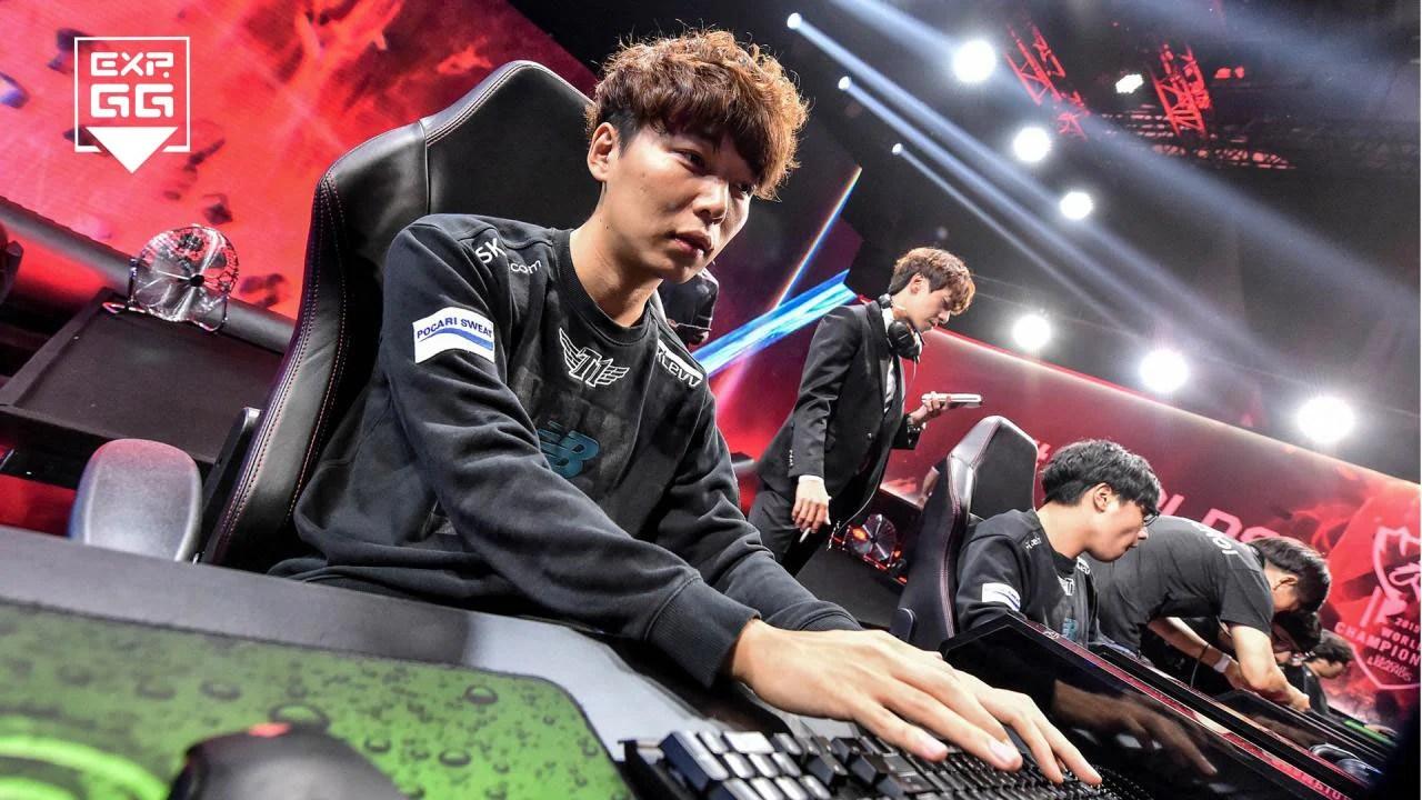 傳聞:Marin與SKT交涉。開價8億韓元! - EXP.GG