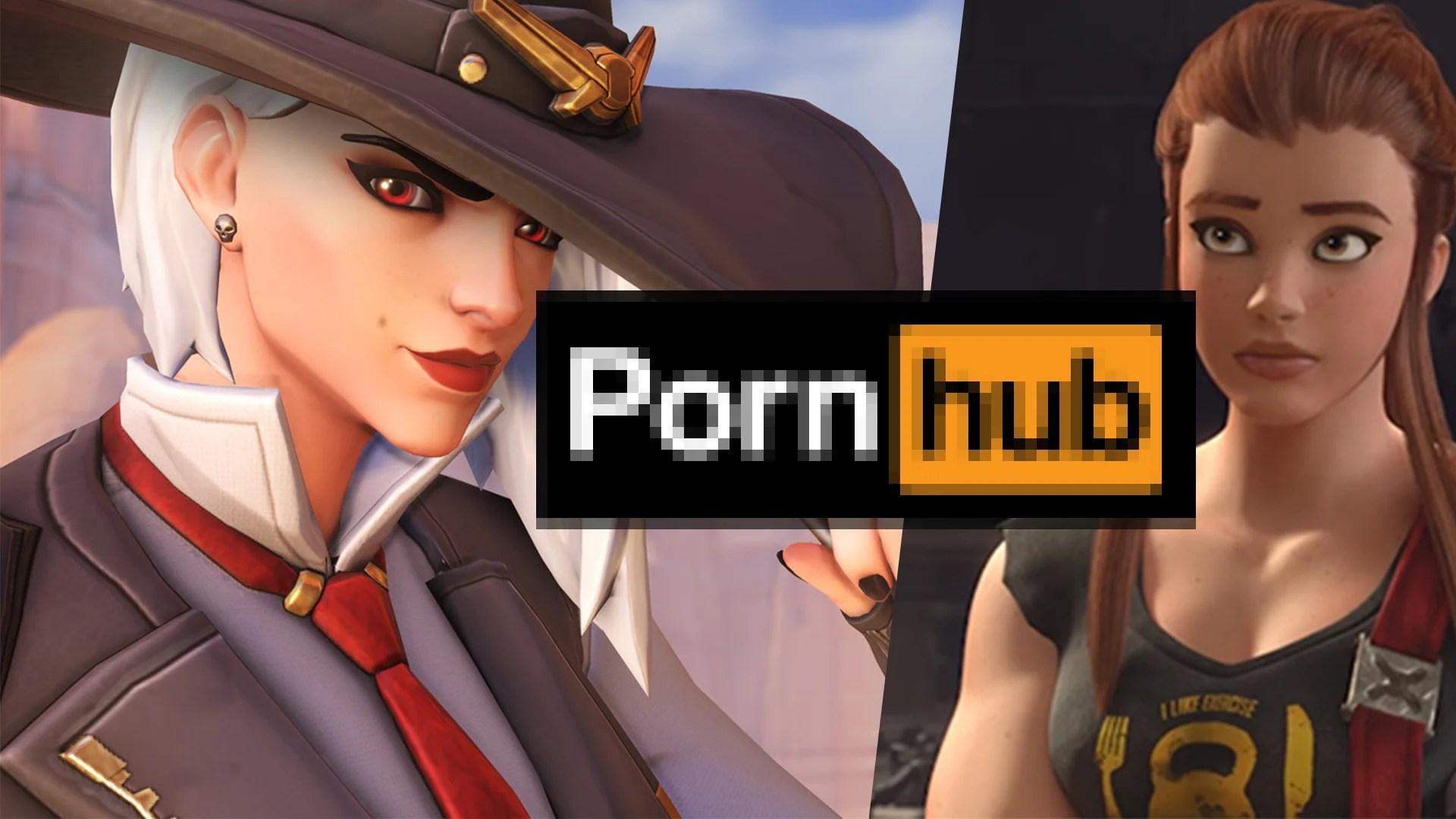 《鬥陣特攻》全面潰敗?2018年於色情網站 Pornhub 熱度下滑 7 名!— EXP.GG