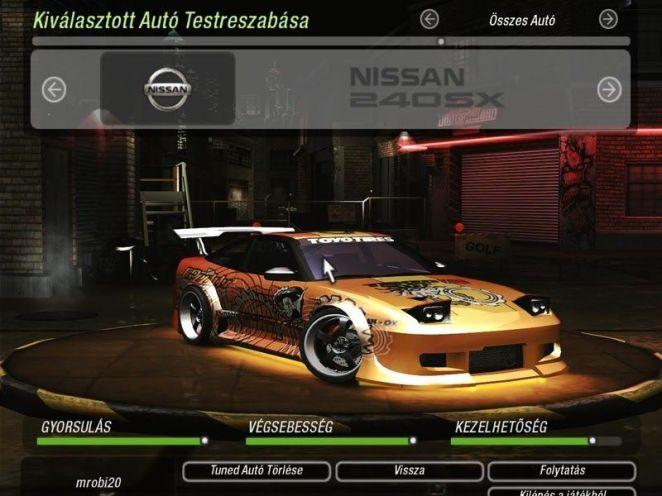 Nissan 240SX Underground 2