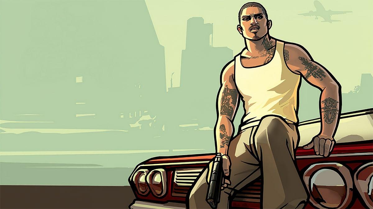 CJ, karakter GTA paling ikonik.
