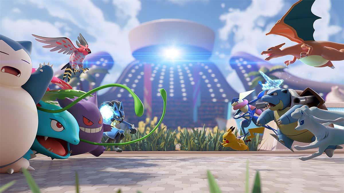 review pokemon unite