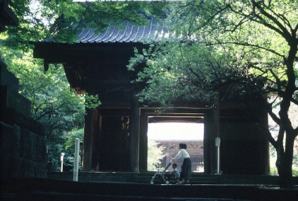 Kenchoji Temple, the largest and the oldest of Japan's five great Zen temples