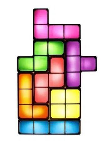 LED Tetris Desk Lamp