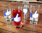 Facebook Like Shot Glasses