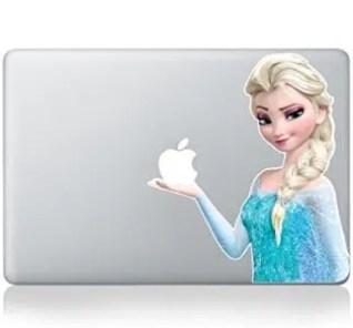 Elsa Frozen Macbook Vinyl Skin Sticker Decal