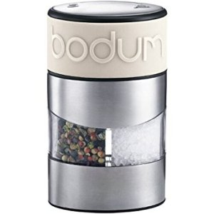 Bodum Twin Dual Salt and Pepper Grinder