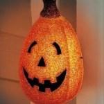 Halloween Pumpkin Porch Light Cover