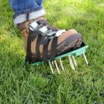 Heavy Duty Spiked Aerator Sandals for Aerating Your Lawn or Yard