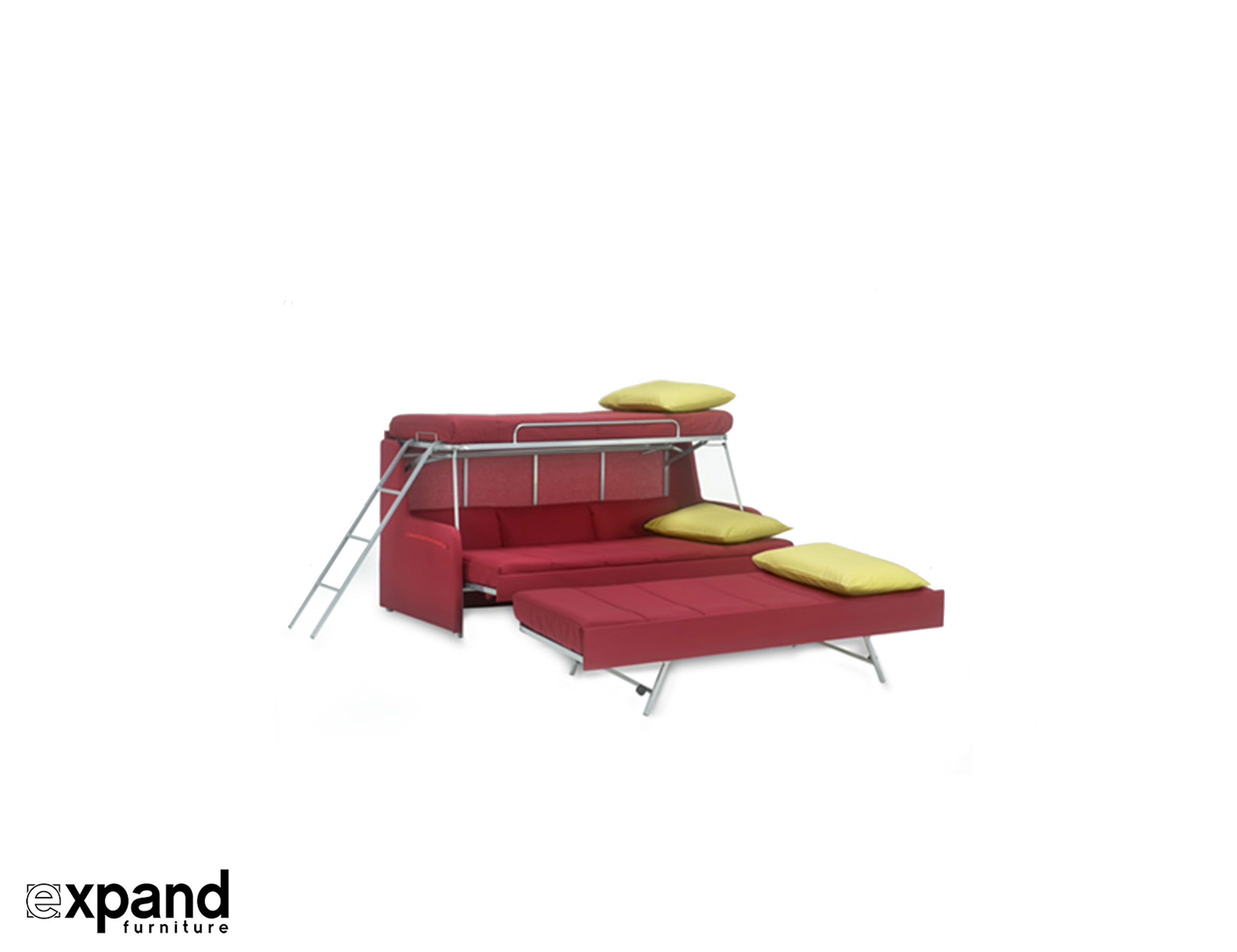 Chair That Turns Into Bed Transforming Sofa Bunk Bed Expand Furniture