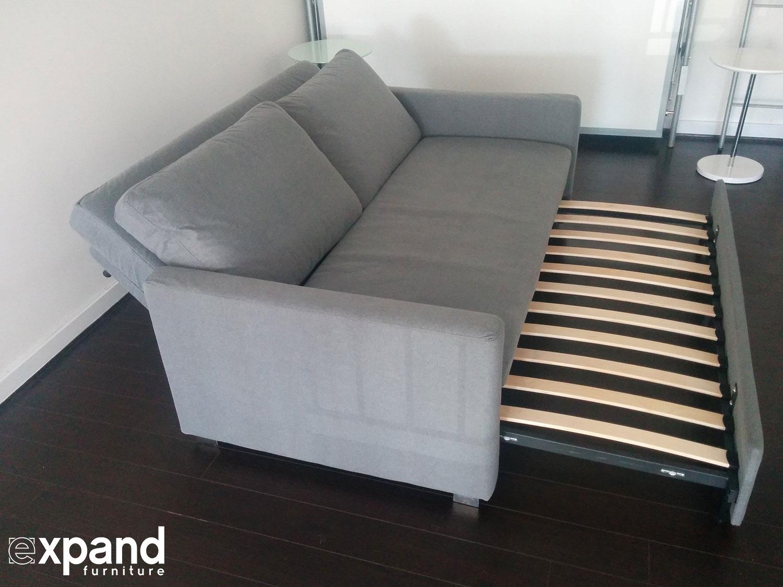 Renoir Queen Size Memory Foam Sofa Bed Expand