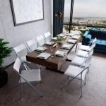 Expandable Dining Set