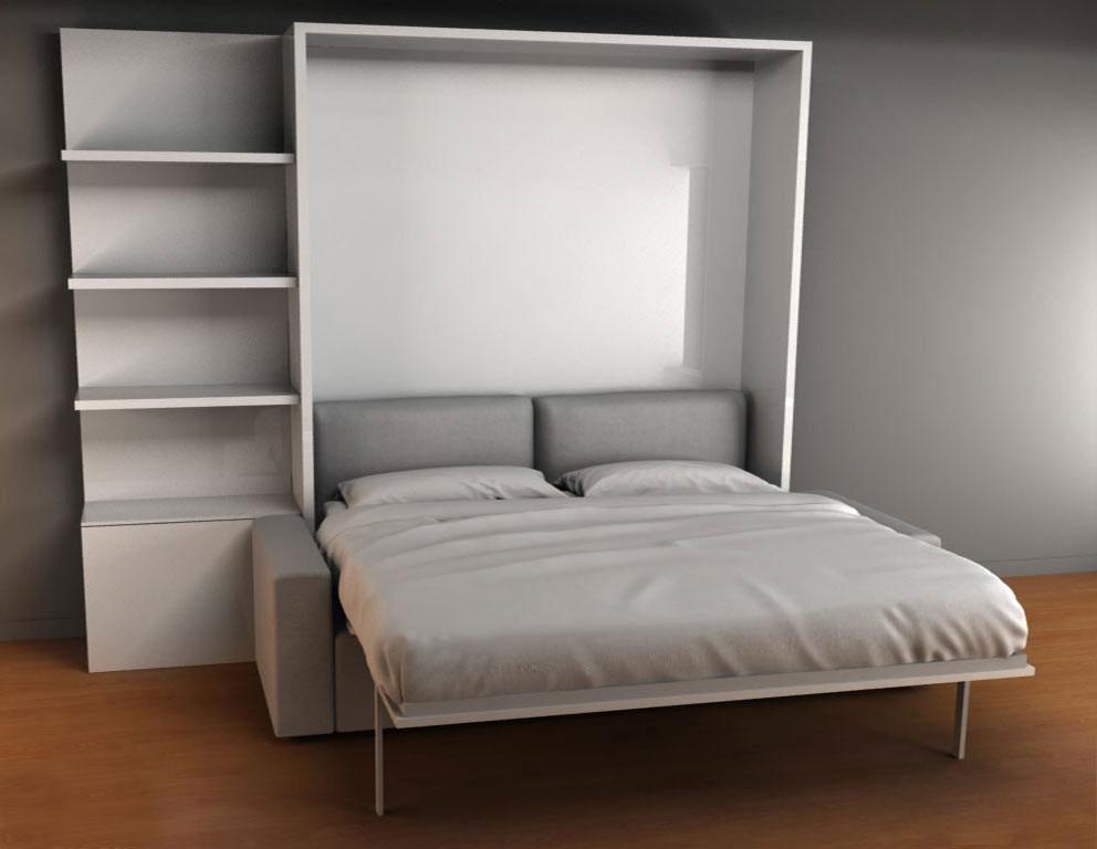 murphysofa clean king size murphy bed with sofa