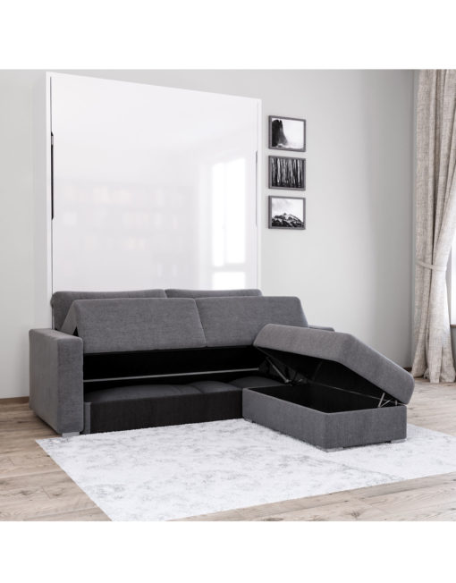 minimal sofa bed corner for 200 pounds murphysofa minima: queen mini sectional | expand furniture ...